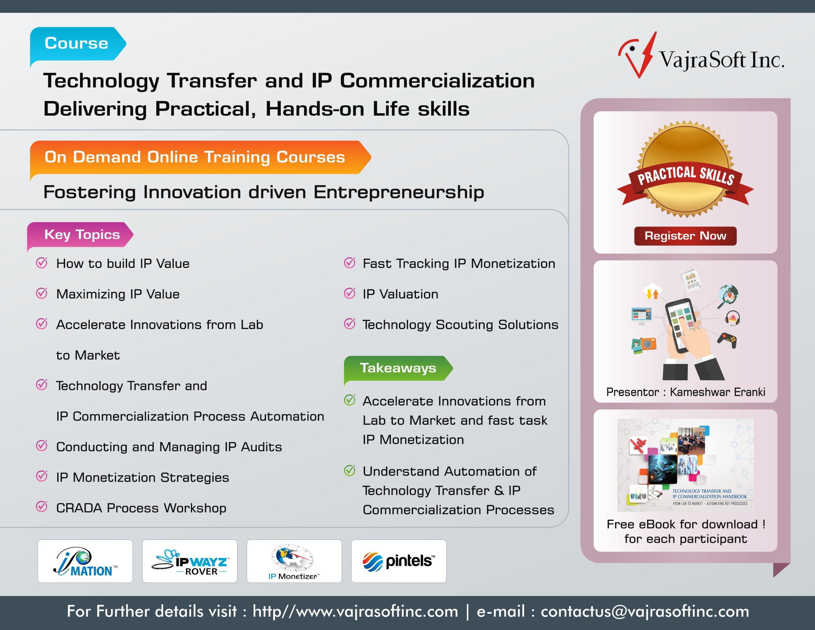 Technology Transfer & IP Commercialization
