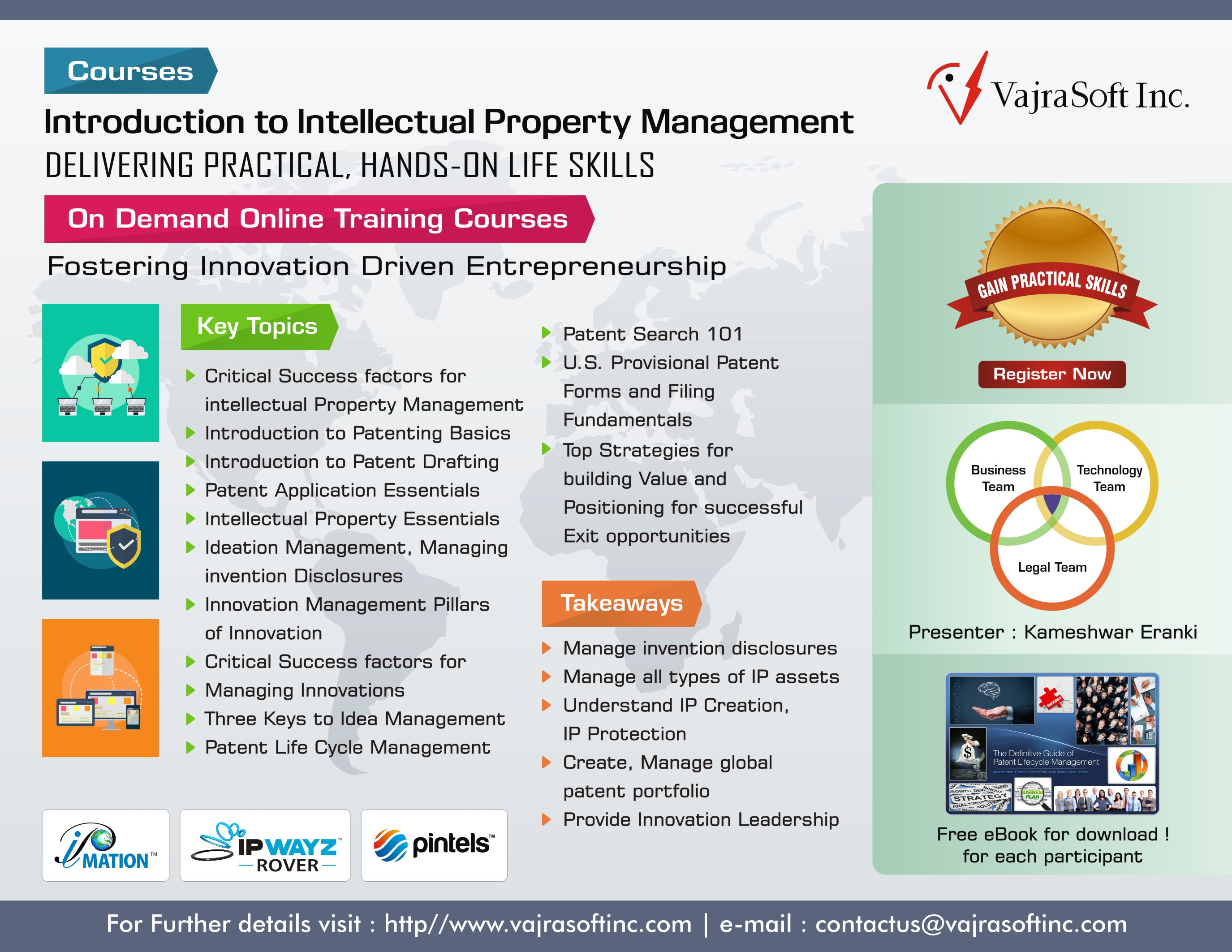 Intellectual property resources vajrasoft inc infographic certificate course in intellectual property management 1betcityfo Choice Image